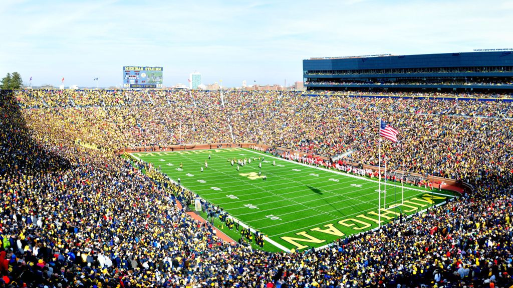 2019 College football biggest stadiums